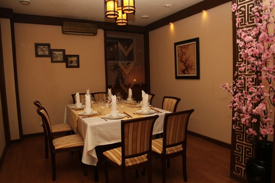 Ресторан Синяя река - фотография 15 - VIP зал