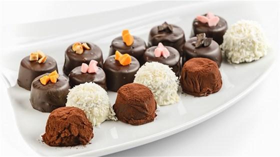 Ресторан Progress Bar - фотография 15 - шоколадные конфеты ручной работы