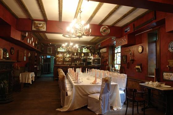 Ресторан Брюссель - фотография 1 - Банкетный зал №2