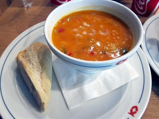"Ресторан Nordsee - фотография 1 - суп ""Ла Мер"""