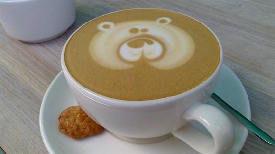 Ресторан Счастье - фотография 15 - Капучино на топленом молоке! :)