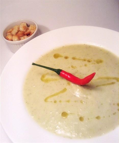 Ресторан Сэндвич-бар - фотография 23 - Крем-суп из цуккини