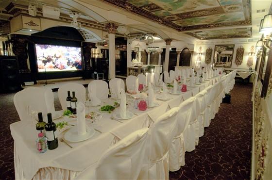 Ресторан Эрмитаж - фотография 6 - Эрмитаж. Свадебный банкет