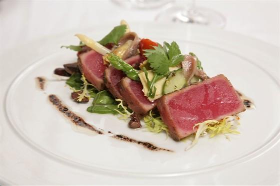 Ресторан Поло-клуб - фотография 4 - NICOISE STYLE VEGETABLES