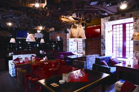Ресторан Свинья и свисток - фотография 1 - Шотландский зал