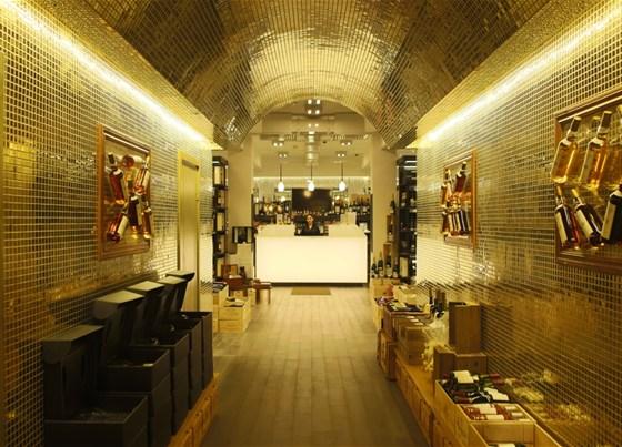 Ресторан Cinq sens - фотография 5 - Холл