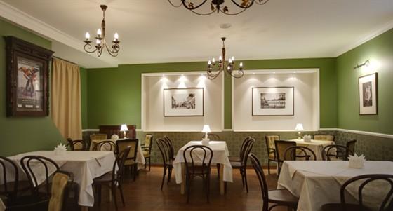 Ресторан Шагал - фотография 15 - Зеленый зал
