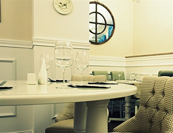 Ресторан Ньютон - фотография 1 - интерьер