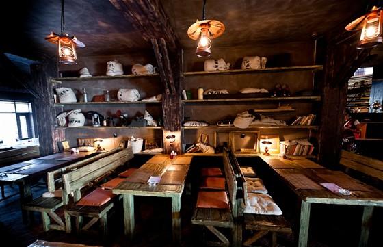 "Ресторан Баден-Баден - фотография 15 - ""Дубовый"" зал"
