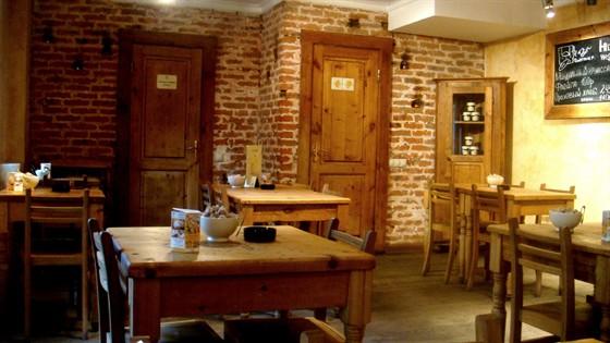 Ресторан Хлеб насущный - фотография 14 - Курящая зона. Точка на м. Театральная.