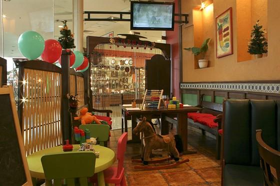 Ресторан Панчо-пицца - фотография 3 - Детская комната