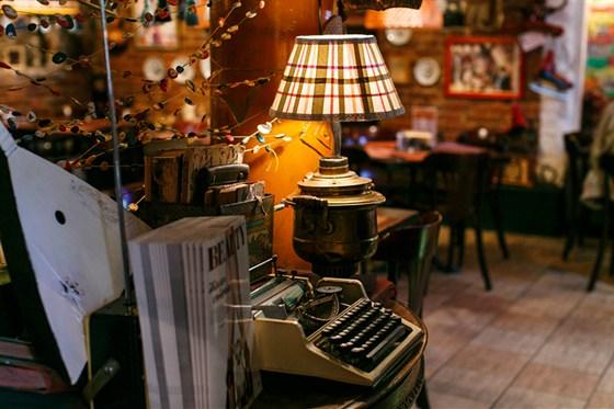 Ресторан Сундук - фотография 12 - Арт-кафе Сундук/Cafe Sunduk