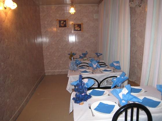 Ресторан Блюз - фотография 4 - Маленькая банкетка