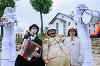 Карнавальное шествие всех участников фестиваля уличных театров «Золотая карусель»