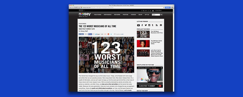 123 худших музыканта всех времен