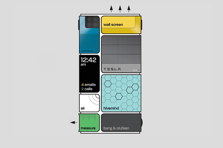 Модульный телефон Project Ara