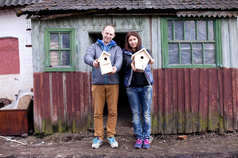 Создатели Алексей Лапшин и Наталья Крикунова