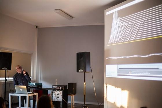 Фото концертный зал Электронная гостиная Политехнического музея