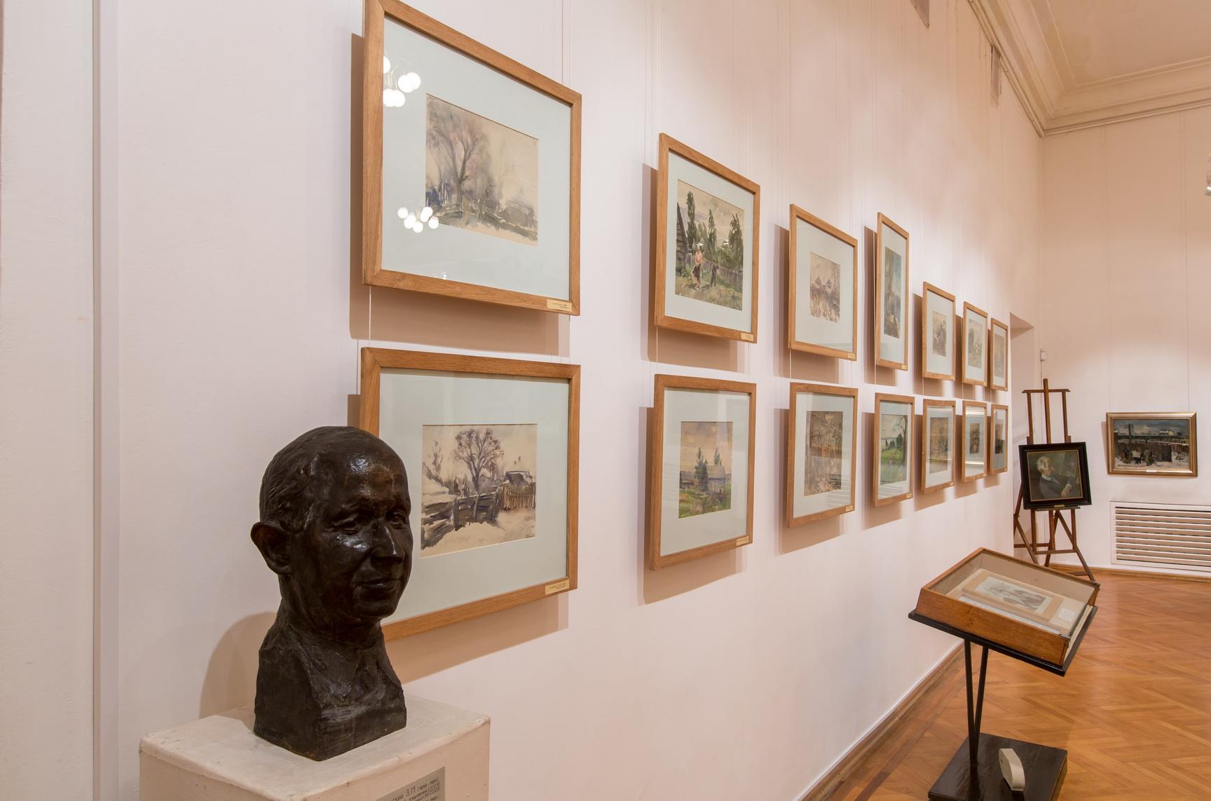 Экспозиция музея Порфирия Крылова смотреть фото