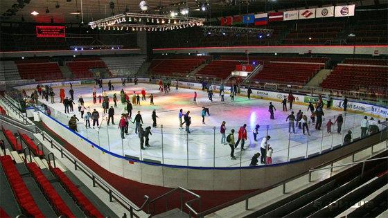 Фото ледовый дворец «Сокольники»