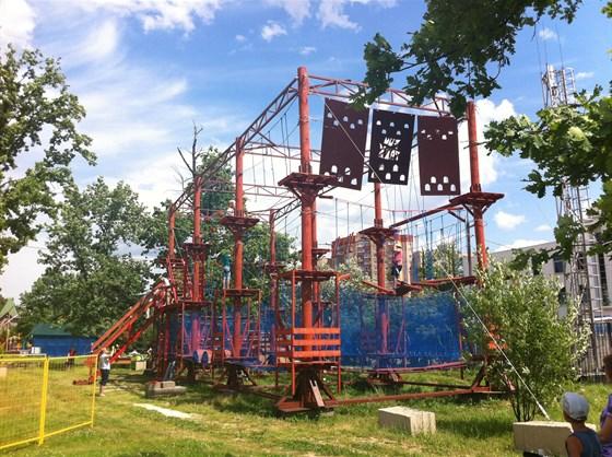 Фото веревочный парк Fun Parks