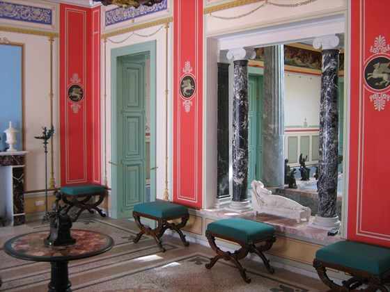 Фото музей Царицын павильон