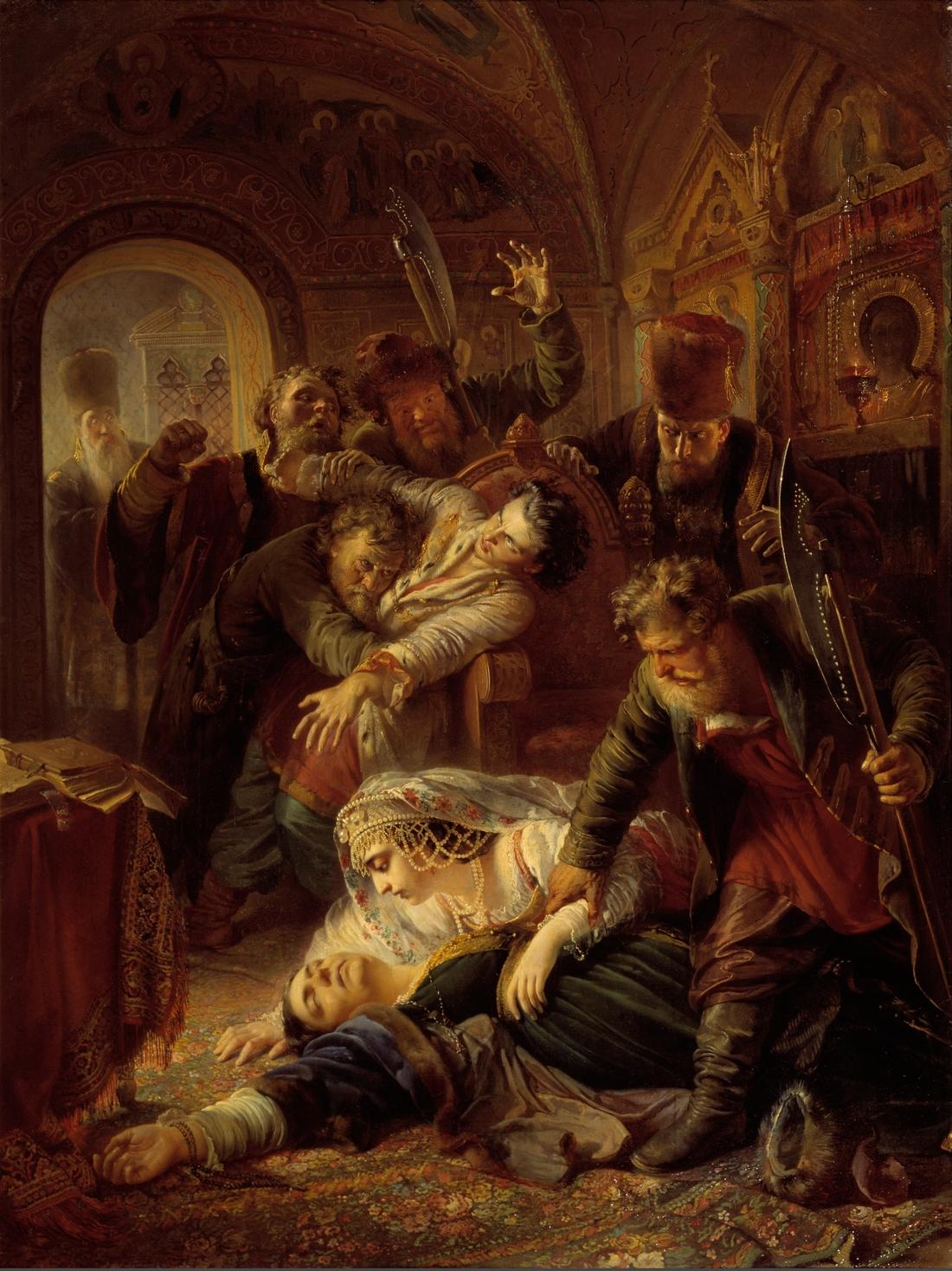 Картины русской истории смотреть фото