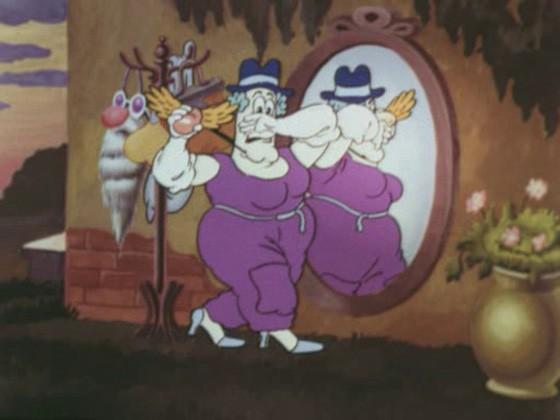 Фунтик и старушка с усами смотреть фото