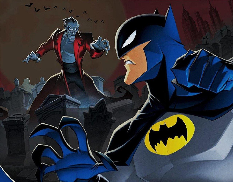 Бэтмен против Дракулы смотреть фото