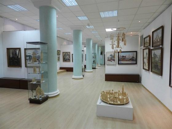 Фото выставочный зал Союз художников России