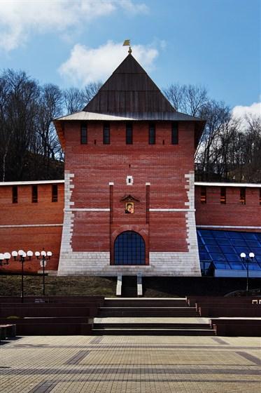 Фото зачатская башня. Нижегородский кремль