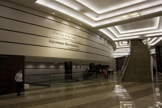 Фото концертный зал Crocus City Hall