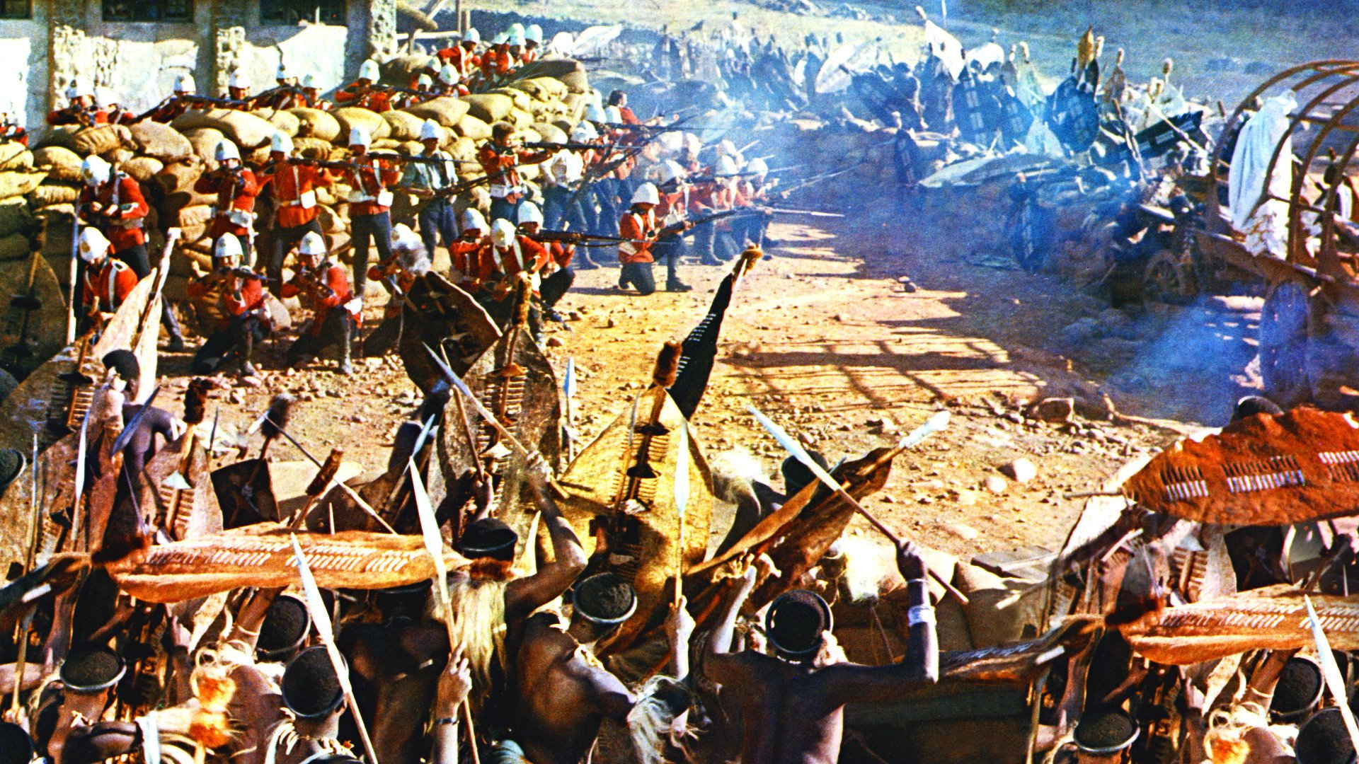 a review of zulu a 1964 epic war film depicting the anglo zulu war Zulu zulu is a 1964 epic war film depicting the battle of rorke's drift between the british army and the zulus in january 1879, during the anglo-zulu war.
