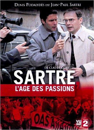 Постер Сартр, годы страстей
