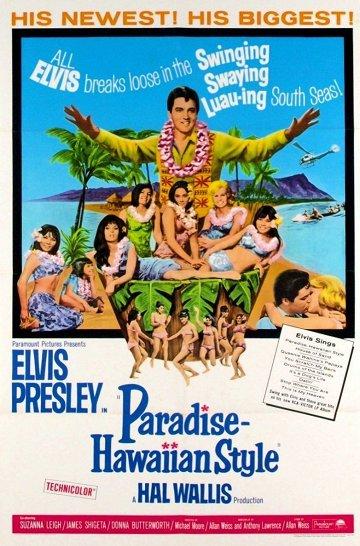 Постер Рай в гавайском стиле
