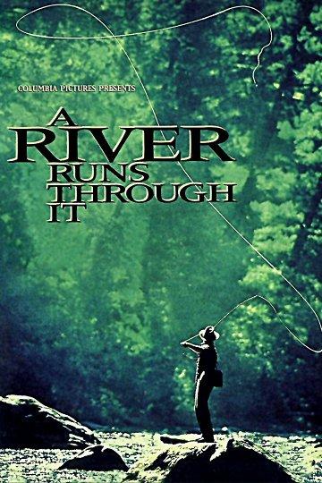Постер Там, где течет река