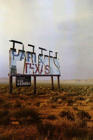 Постер Париж, Техас