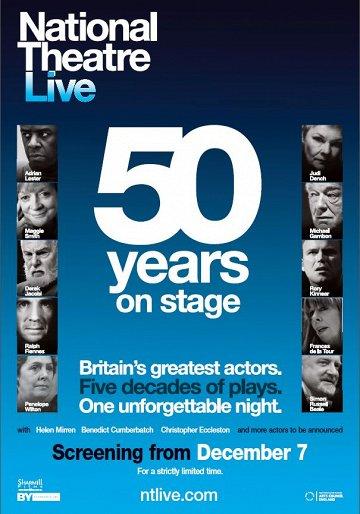 Постер Национальный театр: 50 лет на сцене