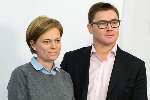 Екатерина Проничева и Владимир Погребенко