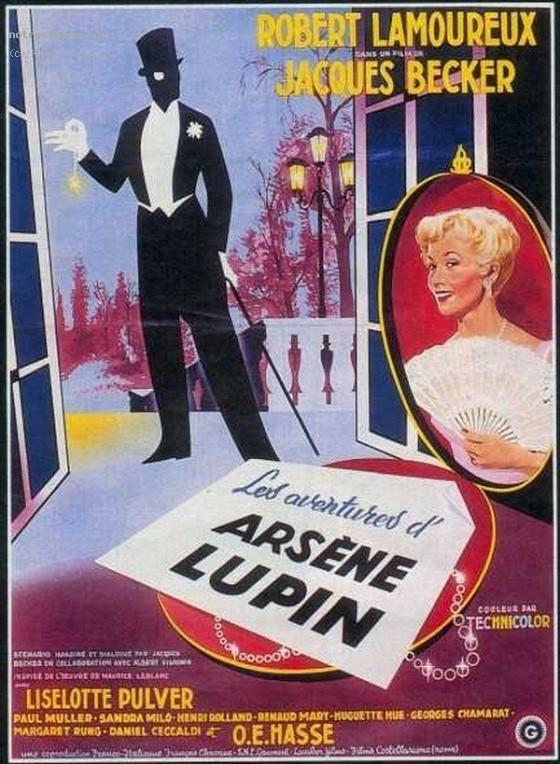 Приключения Арсена Люпена (Les aventures d'Arsène Lupin)