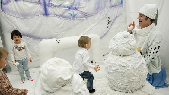Театр на ладошке. Зима