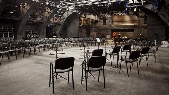 Театр им. Маяковского. Сцена на Сретенке