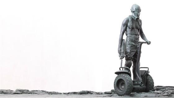 Serenitas. Скульптура Алексея Морозова из частных коллекций