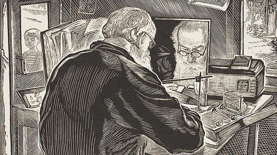Илларион Голицын. Рисунок, акварель, гравюра