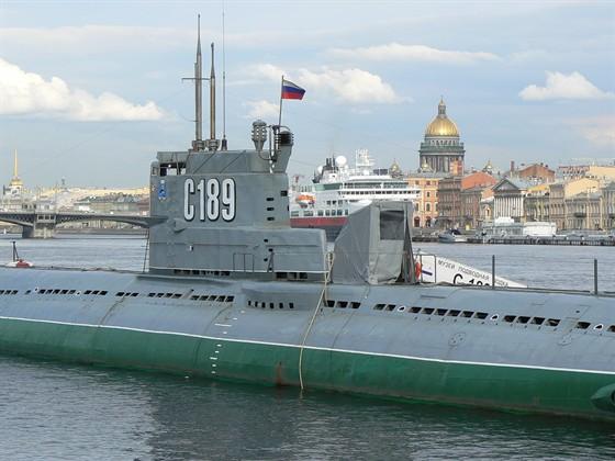 Плавучий музей подводной лодки С-189
