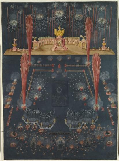 Царские потешные огни. Культура праздника в России XVIII века