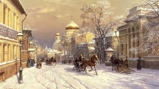 Живопись Михаила Сатарова. Работы учеников