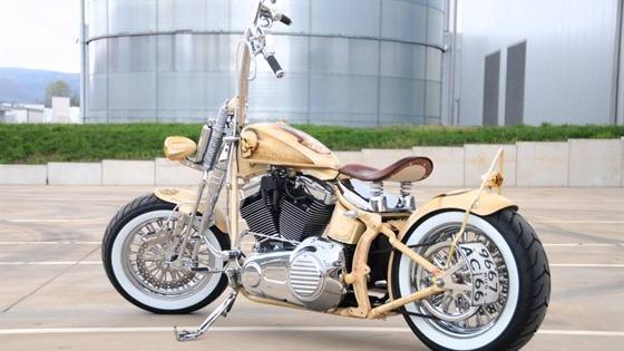 Выставка кастом-мотоциклов