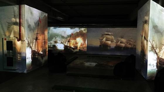 Айвазовский и маринисты. Живые полотна