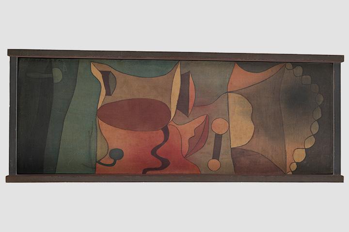 Пауль Клее. Широкий натюрморт, 1932